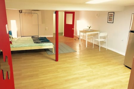 Clean basement in BEST location! Travellers dream! - Toronto - House