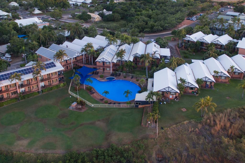 Aerial View - Apartments Broome