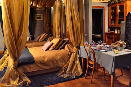 B&B La Selvatica-(For 4) The Gemini - Chiavenna - Bed & Breakfast