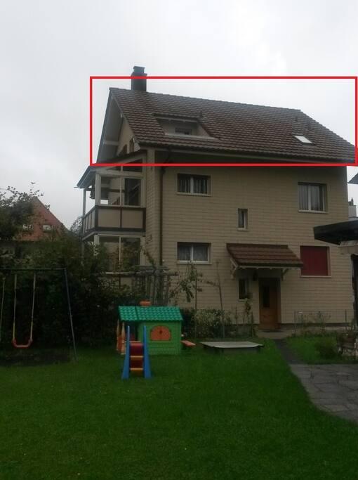 Aussenansicht - kleines Haus