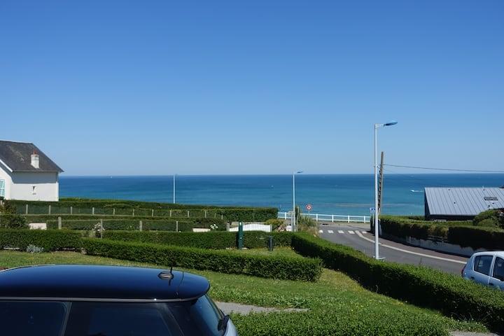 Chambre d'hôte indépendante avec vue sur mer (B)