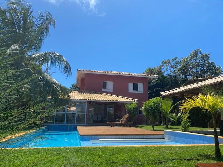 Casa em condomínio no Complexo de Costa do Sauípe