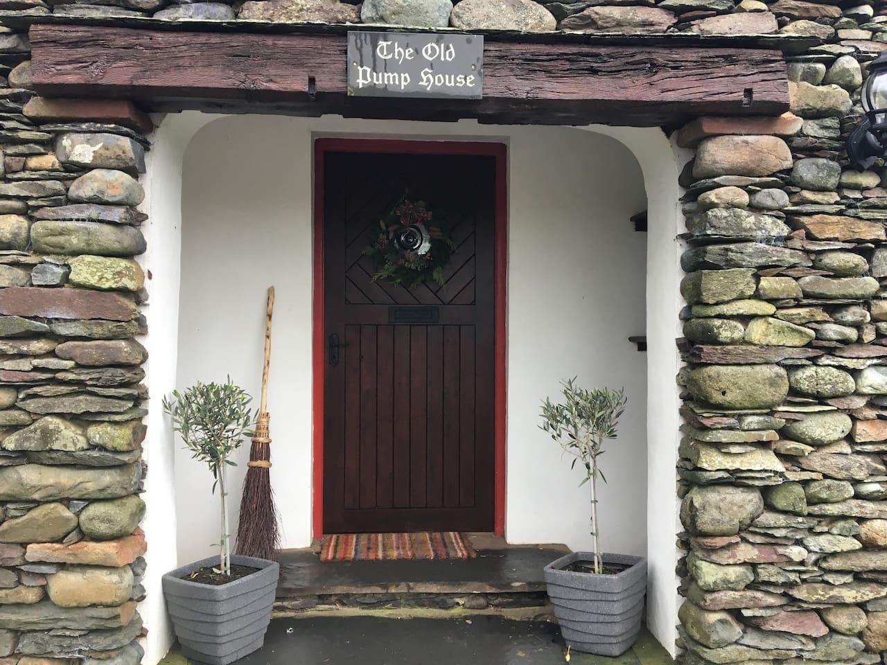 Main cottage doorway