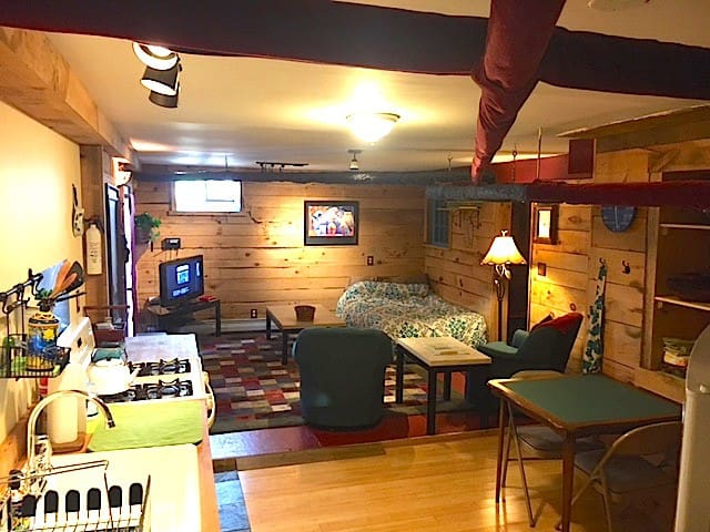 The City Cabin (2 blocks to train) - Boston - Appartement