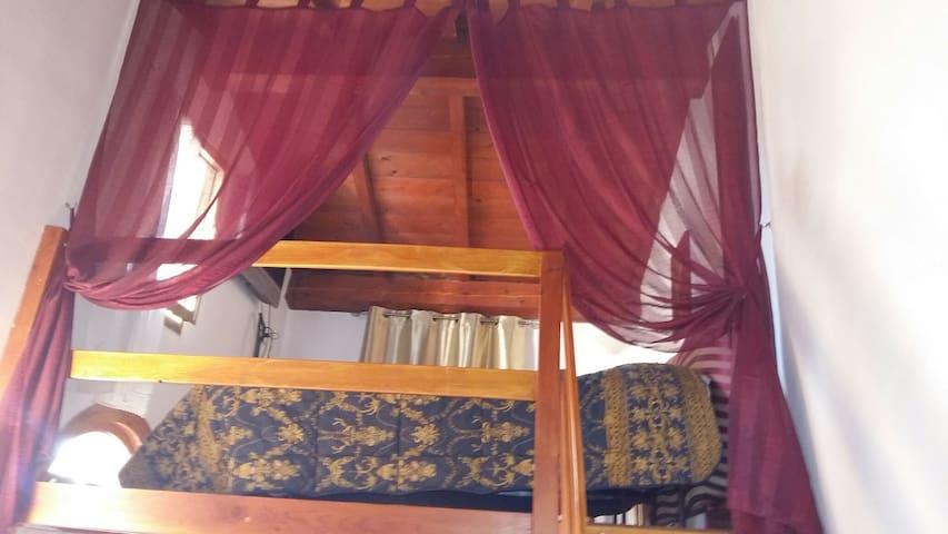 caratteristica camera con soppalco