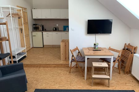 Farmland Pnovany, Loft apartment, 5 people