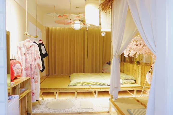 【新宿】凤凰城 日式风格 免费试穿和服 JK制服  聚会玩 网红拍照