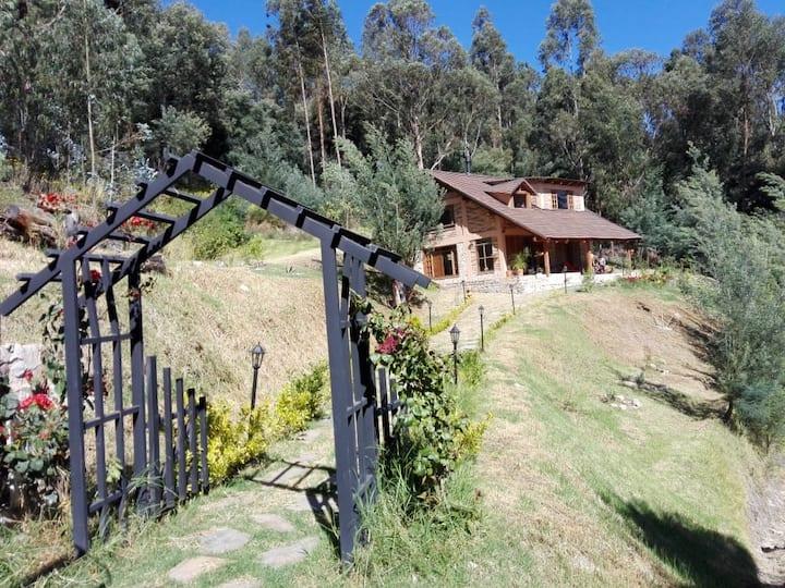 Cabaña en las montañas boyacenses