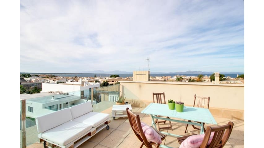 Casa vistas mar Colonia Sant Pere