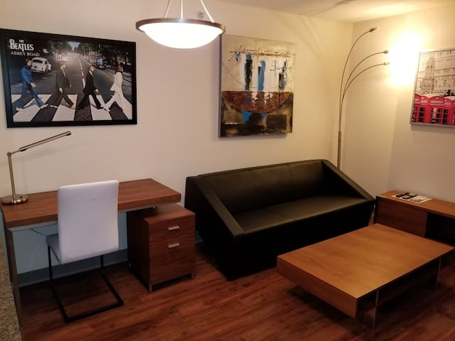 Chic and Bright 1 Bedroom Yaletown FREE PARKING