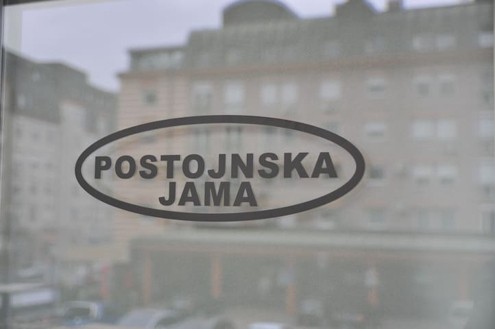 Time Art Postonjska jama 250m from central bus st.