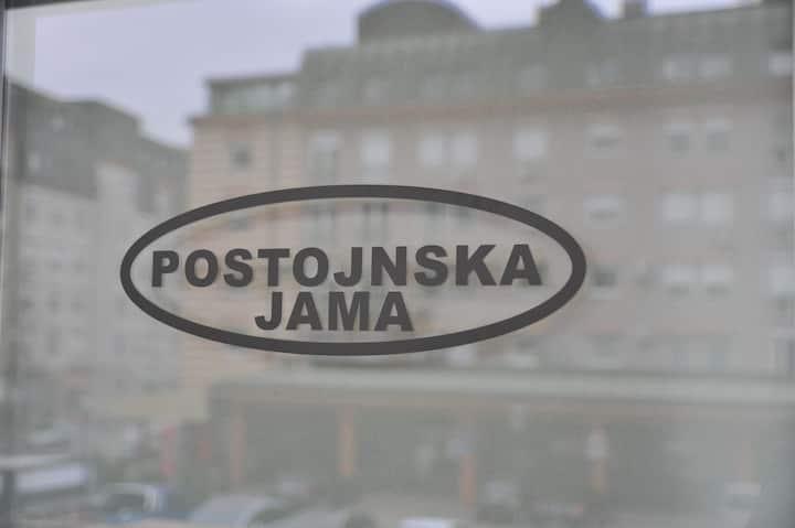 Time Art Postonjska jama 250m from central bus st.