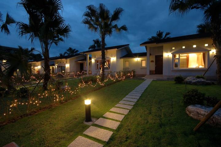 水筠間民宿,峇里島獨棟庭院二人房,私人空間40坪,近羅東夜市、梅花湖、林業文化園區、宜農牧羊場