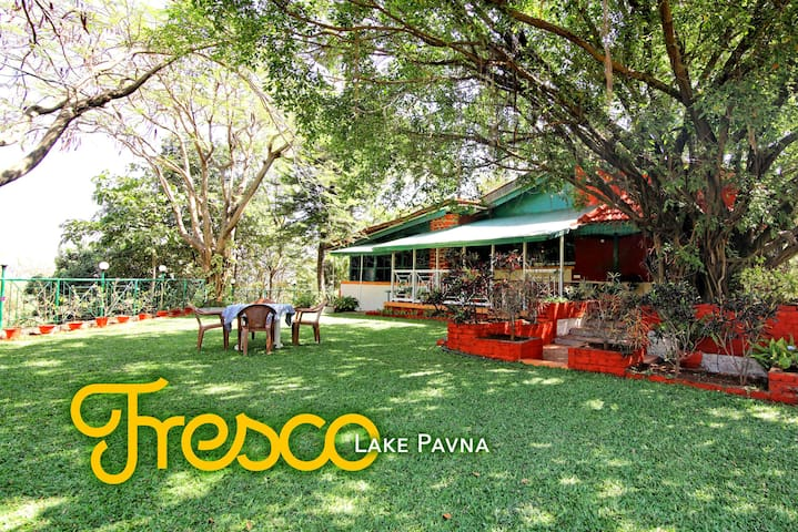 Fresco - Lake Pavna Private Pool Villa - 3 Bed - Lonavala - Casa de camp