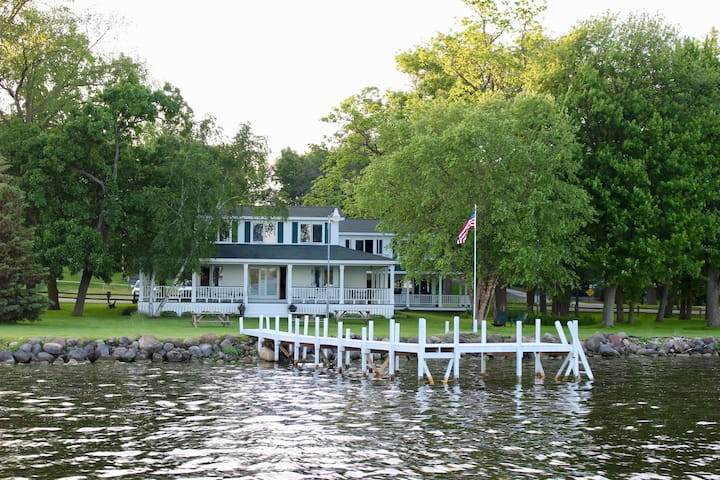 Badger Shores waterfront Property on Green Lake