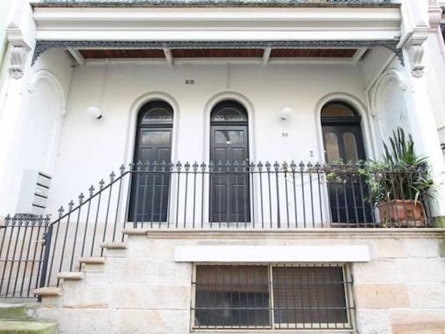 Private heritage home in heart of Sydney