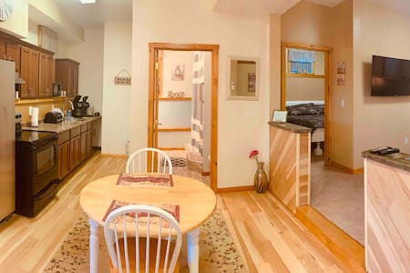 Sparkling clean, spacious 1 BR Apt w/King Bed