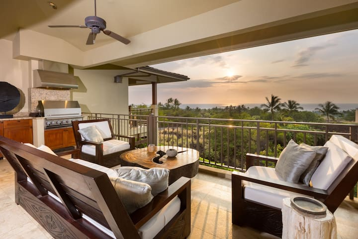 Ocean view, Condo, Lanai, Luxury, Hainoa Villa (2901B) at Four Seasons Hualalai