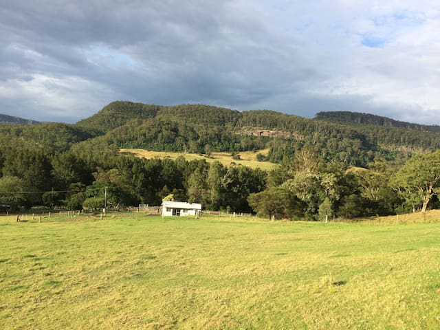 """The Tin Shed"" at Beauridge Farm - Kangaroo Valley - Houten huisje"