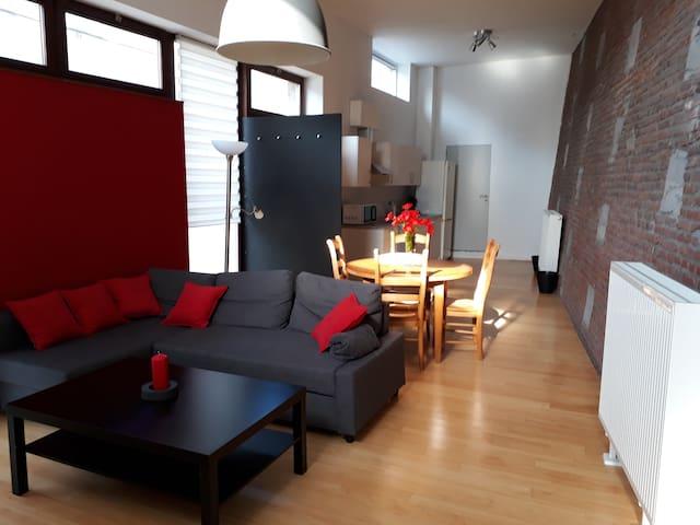 L'appartement des remparts de Liège!