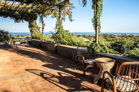 Sicilian country estate, with pool - Fiumefreddo di Sicilia - Vila