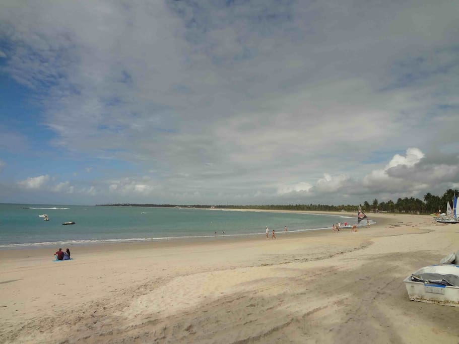 Praia próxima à casa / Beach 4 bloch s away
