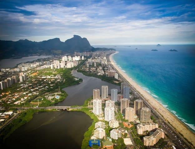 Apartamento en la playa de Barra da Tijuca - Río de Janeiro - Apartotel