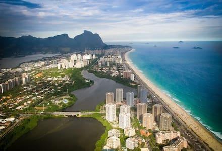 Flat in front of Barra da Tijuca beach - Rio de Janeiro - Apartmen perkhidmatan