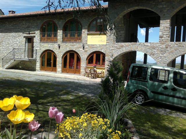 Appartamento casa Monastero Bormida - Monastero Bormida - Haus