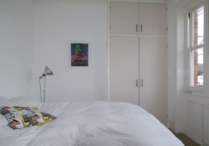 double bedroom, this room faces west with beautiful afternoon light