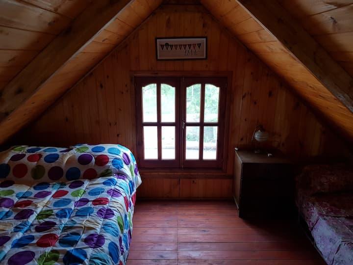 La cabaña de Titina