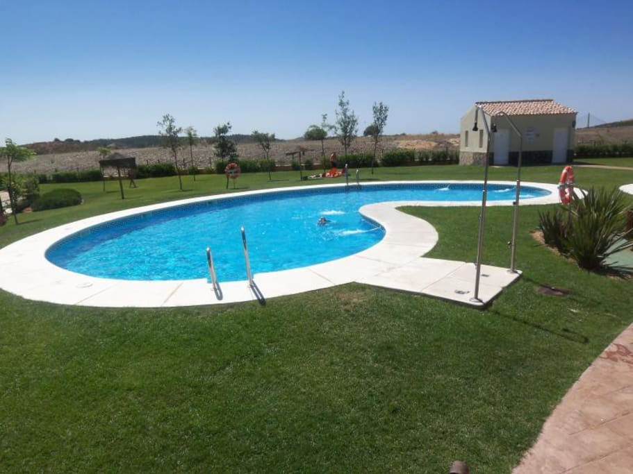 Swimming Pool and separate children's pool
