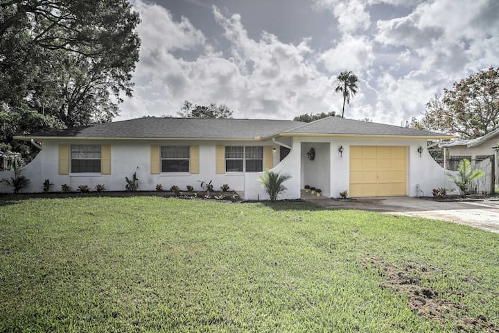 Quiet Home Near Shopping & 15 Miles From Orlando!