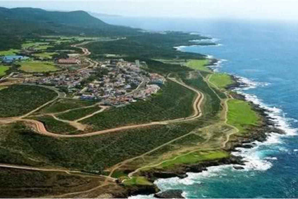 aerial view of Bajamar