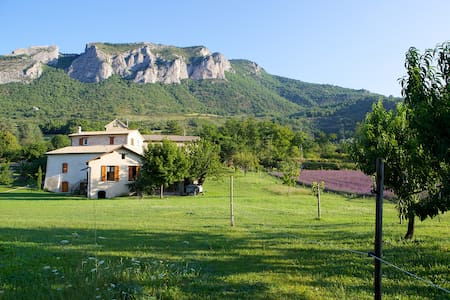 Beautiful provençal house, lavender field - Orpierre - Casa
