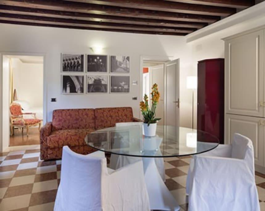 4 people apartment - Mazzorbo - Living Room