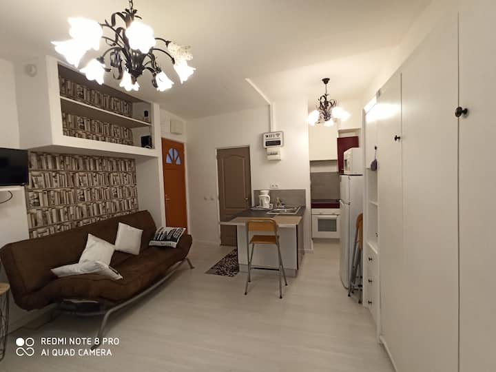 Studio 25 m2 refait à neuf en 2018