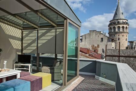Wonderful view Doublex Penthouse - Κωνσταντινούπολη - Διαμέρισμα
