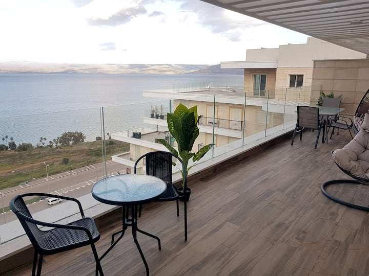 King David breathtaking LAKE VIEW 4BDR PENTHOUSE ♕