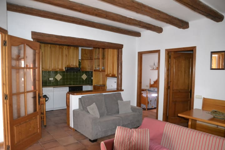 Apartamento rústico y acogedor en Alta Ribagorça - Vilaller - Leilighet