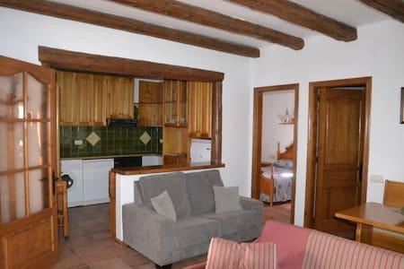 Apartamento rústico y acogedor en Alta Ribagorça - Vilaller - Apartament