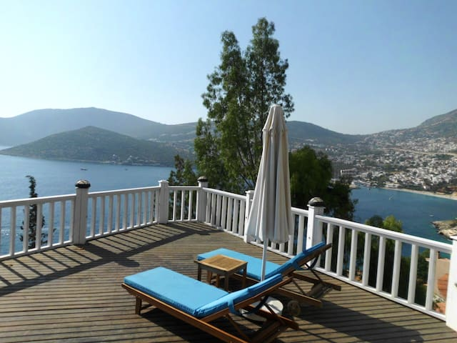 Stunning sea view apartment! - Kalkan - Appartement