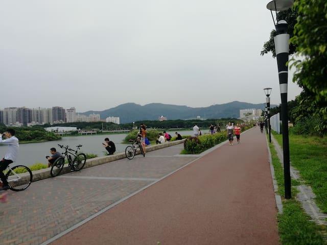 附近公园跑道