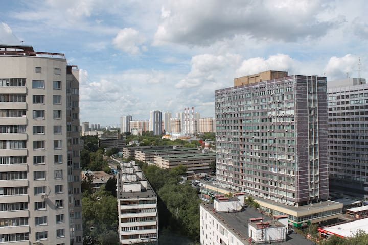 Spacious 1BD room on high - Moskva