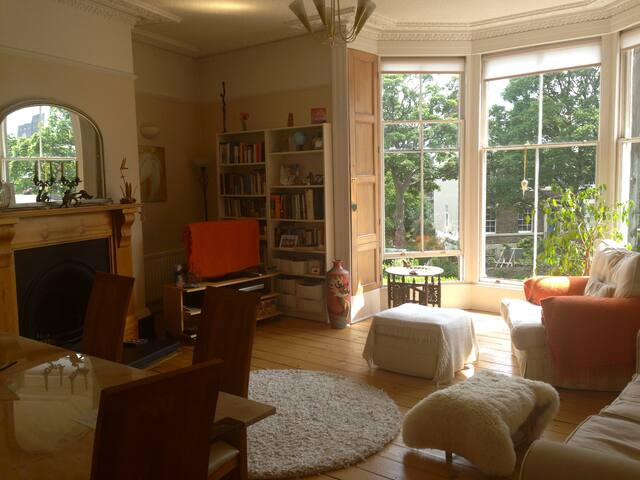 Gorgeous Georgian double room - Tynemouth - Apartment