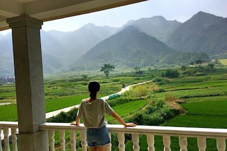 整租独立别野6个房间青山绿水景观房天然氧吧! - Hangzhou