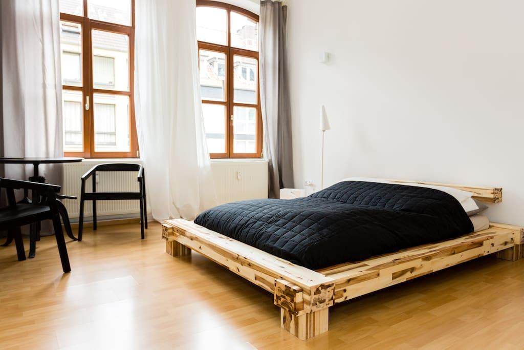 The 1st sleeping room