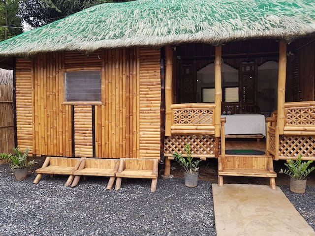 Bamboo Rm (A) with AC and hot shower, private CR