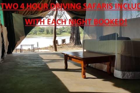 Mikango Safari Lodge, South Luangwa Park, Zambia