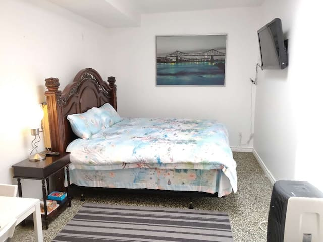 Private Unit, King Size Bed, Kensington Market